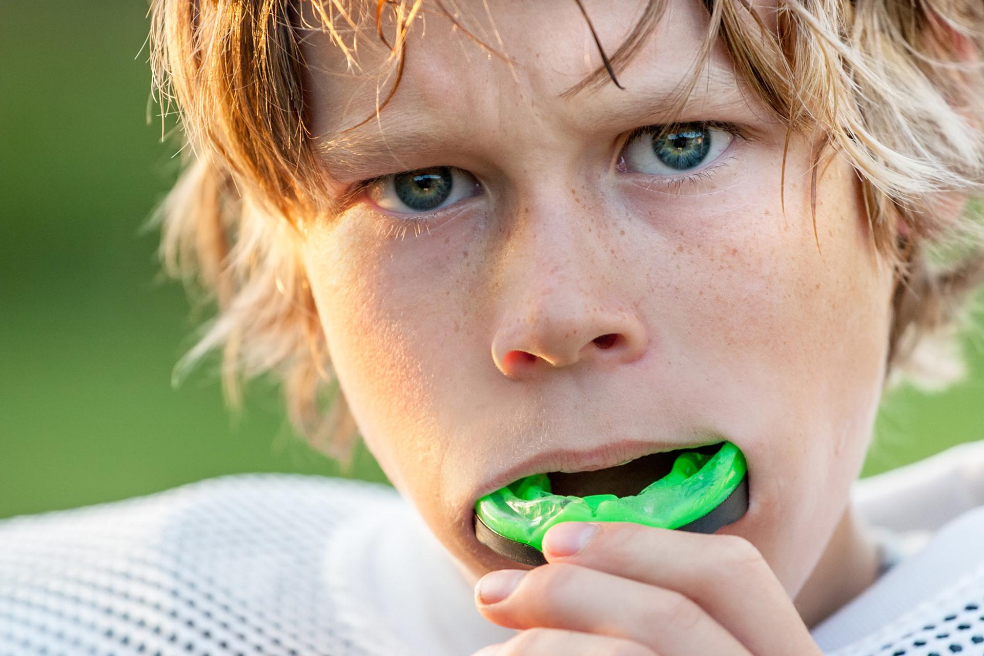 Zahnschutz für Sportler